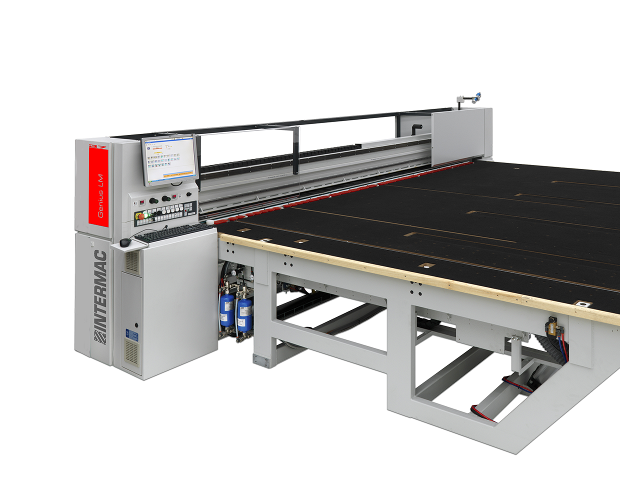 cutting tables for laminated glass glassworking machines genius rh intermac com